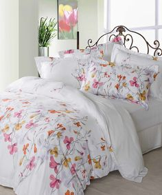 Take a look at this Giardino Duvet Cover Set by St. Pierre Home Fashion Collection on #zulily today!