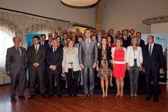 Los rectores de las universidades españolas asistieron a un almuerzo presidido por SS. AA. RR. los  Príncipes de Asturias, con motivo de la celebración del Fórum  Impulsa 2012, que organiza la Fundación Príncipe de Girona (28/07/12)