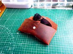 Making Sunglass Case / Güneş Gözlüğü Kılıfı  #leather #leathercase #sunglasscase #making Sunglasses Case