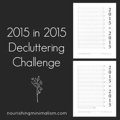 2015 in 2015 Decluttering Challenge