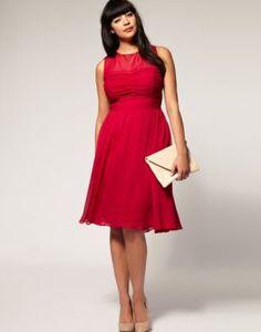 Where to get dresses for plus size - Naomi Shimada - Midi Dress at Asos Curve.jpg