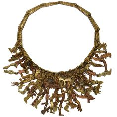 """""""Milagros"""" Necklace by Sculptor Pal Kepenyes 