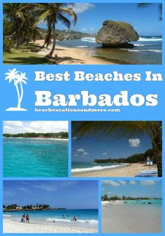 Best beaches in Barbados: Sandy Lane, Carlisle bay, Bathsheba, Paynes Bay, Rockley, Enterprise (Miami), Bottom Bay, Crane,Hastings and Dover Beach
