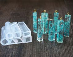 Silicone Molds DIY Pendant Resin Accessories Pendant Jewelry Making Tools is part of jewelry Making Supplies - Diy Silicone Molds, Resin Molds, Clear Silicone, Resin Jewelry Molds, Resin Jewellery, Jewellery Shops, Diy Resin Mold, Tanishq Jewellery, Diy Resin Art