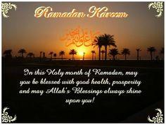 Ramadan Mubarak!!