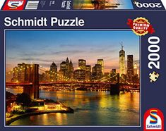 Puzzle 2000 con il New York Skyline at night 2000 Piece Puzzle, Wooden Puzzles, Jigsaw Puzzles, Best Starters, Buffalo Games, Amazon Image, Fantasy Images, Puzzles
