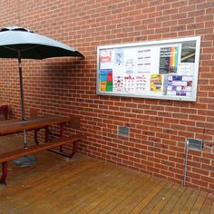A number of CIVIQ FlexiDisplay Tufflock noticeboards were purchased and installed around Braybrook College with one assigned to each year group, providing a secure and visually pleasing platform for the students to display their notices and other important information and posters.  #schoolnoticeboard #noticeboard #bulettinboard #whiteboard #signs #displayboard #CIVIQAus