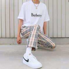 Mode Outfits, Retro Outfits, Vintage Outfits, Nyc Mens Fashion, Korean Fashion, Male Summer Fashion, Urban Fashion Women, Fashion Menswear, Fashion Sets