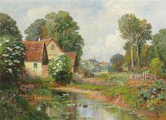 Alois Arnegger | Romantic landscape painter | Part.2 | Tutt'Art@ | Pittura • Scultura • Poesia • Musica