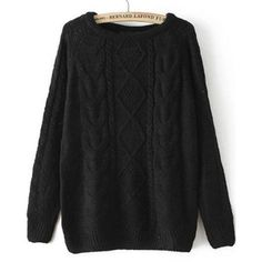 Loose Cable Knit Sweaters - Polyvore