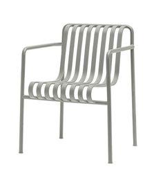 Fauteuil Palissade / Large - R & E Bouroullec Gris clair - Hay - Décoration et mobilier design avec Made in Design