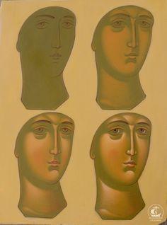 Byzantine Icons, Byzantine Art, Religious Icons, Religious Art, Paint Icon, Face Icon, Jesus Painting, Learn Art, Catholic Art