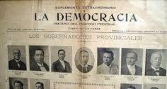 PhP: Philippine History in Pictures : May 16,1899: La Democracia began publication—1st Filipino newspaper to recognize U.S. sovereignty in Philippines.