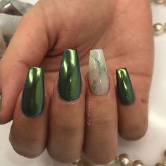 Jade marble nails @KortenStEiN