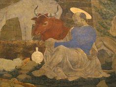 Baldovinetti Alesso - Adorazione dei pastori, particolare - 1460-1462 - Chiostrino dei voti - Chiesa Santissima Annunziata - Firenze