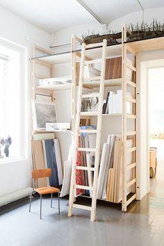 Outstanding art studio apartment design ideas 39