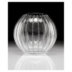 "William Yeoward Crystal - Inez Spherical Vase - 12"""