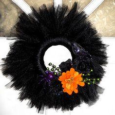 Tule Wreath