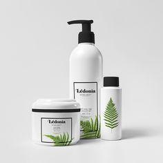 Projekt opakowań produktów dla linii kosmetyków organicznych