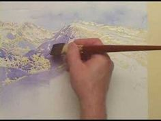 Watercolor tutorial lesson with Gayle Weisfield - Cattails - YouTube