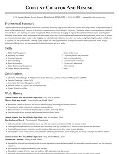 Download Social Media Specialist Resume Pics Cover Letter Template, Letter Templates, Resume Form, Unique Resume, Resume Objective, Media Specialist, Social Media Channels, Resume Design, Resume Examples