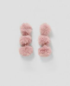 Discover the new ZARA collection online. Zara, Women Accessories, Jewelry Accessories, Diy Jewelry Projects, Passementerie, Cute Earrings, Dusty Pink, Jewelery, Fashion Jewelry