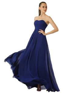 Artwedding Floor Length Chiffon Prom Party Evening Dress with Lace-up Back, Navy, 2 Topwedding,http://www.amazon.com/dp/B00E87TTBC/ref=cm_sw_r_pi_dp_-BNnsb0Q411GWG5M