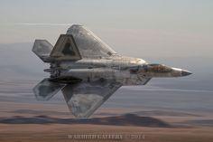 F-22 Raptor on edge