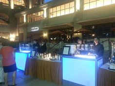 Full service infusion tea & herbal infusion station for 1200 people www.espressoeventsorlando.com