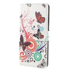 Housse Huawei Honor 8 Pro - Papillons Rétro