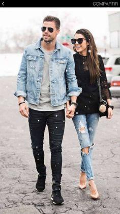 13 mejores imágenes de Couple Outfits  4e6bbde4703