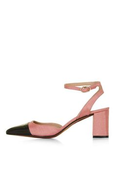 Must-Have: Two-Tone Mary Janes. Meet spring's most affordable It-shoe.JEWEL Toecap MaryJanes.
