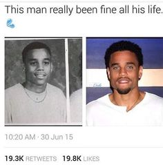 Michael Ealy just been cute all his life! Fine Black Men, Handsome Black Men, Fine Men, Cute Black Guys, Black Boys, Cute Guys, Black Man, Michael Ealy, Lite Brite