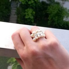 Rings from the Pearl Collection   Sarah Green Fine Jewellery