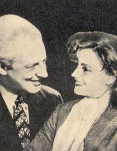 Leopold Stokowski with Greta Garbo