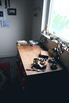 Home Decor Inspiration: Atlanta Loft | Free People Blog #freepeople