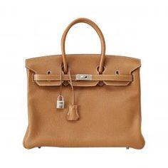 #Hermes Birkin #Bag Gold Togo Palladium Hardware