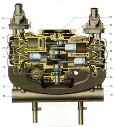 aircooled cut-away engine 2