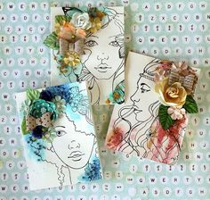 Card: Bloom Cards by Cari
