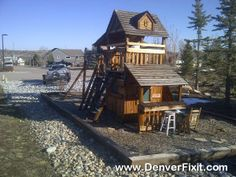 One Of My Favorite Backyard Adventuresu0027 Designed Playset. Relocated This  One To Castle Rock