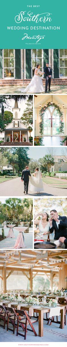 The best Southern wedding destination... Montage Palmetto Bluff