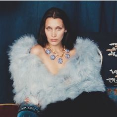 Bella Hadid photographed by Venetia Scott, the Fashion Director of British Vogue. #TBT
