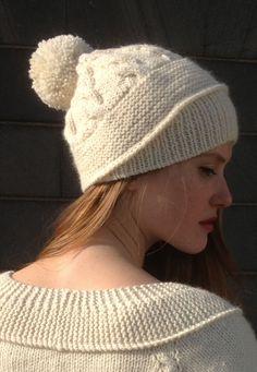 bonnet Blanche Bonnet Tricot, Laine Tricot, Tricoter En Rond, Bonnet  Echarpe, Couture 97735e37614