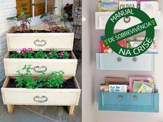 5 maneiras de reaproveitar móveis e objetos para decoração