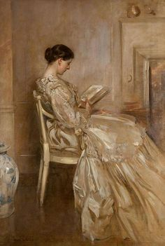 James Guthrie - Lady Stirling Maxwell, 1908 - Scotland