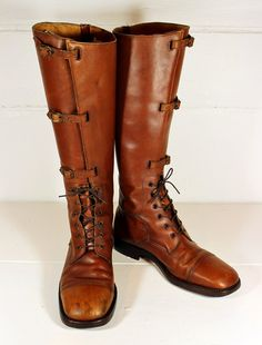 Vintage Bort Carleton Leather Boot Riding 1970s by PoetryofObjects