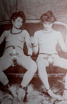 Chastity Belts: The first real chastity belts weren't created until the 1800s, and they weren't for keeping women from straying sexually. The first chastity belts appear to have been crude devices designed to keep boys and girls from masturbating and later for keeping women from being raped/molested once they entered the workforce.