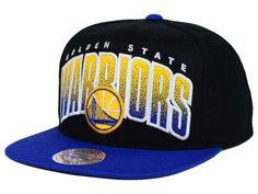 5229b5782da Golden State Warriors Mitchell and Ness NBA Double Bonus Snapback Cap  Golden State Warriors