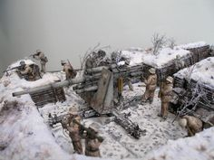 Dioramas and Vignettes: Winter episode of WWII, photo #8