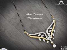 There's a reason why two people stay together. #diamond #mangalsutra